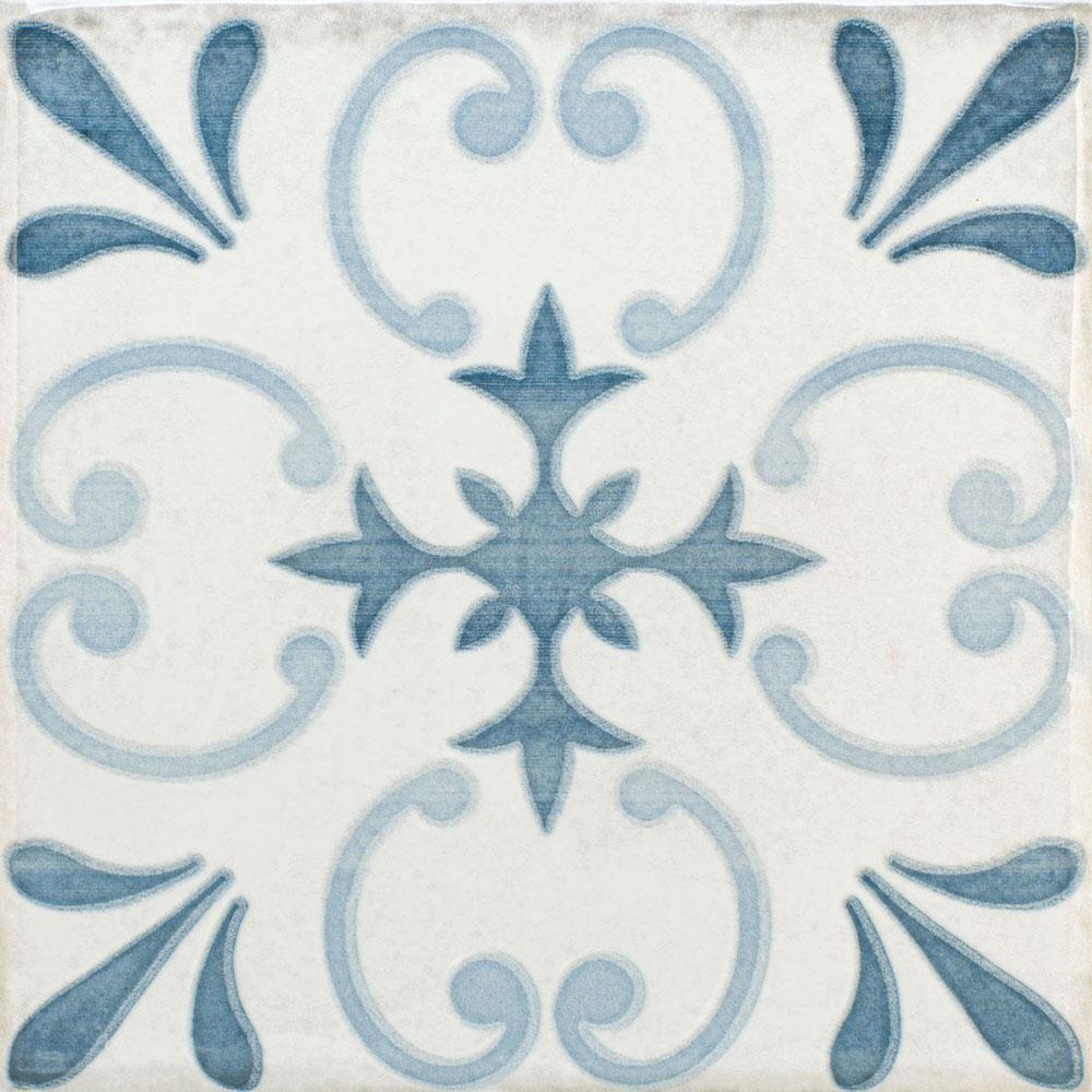 RV OLARIA DECOR BLUE 15.4X15.4
