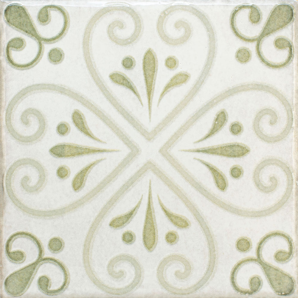 RV OLARIA DECOR GREEN 15.4X15.4
