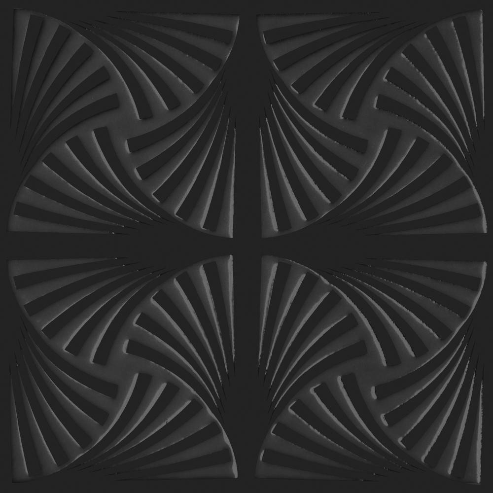 RV VENUS BLACK 21.5X21.5