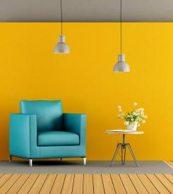 cores para ambientes pequenos